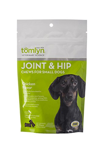 Tomlyn Joint And Hip Chews For Small Dogs, 30 Ct ()