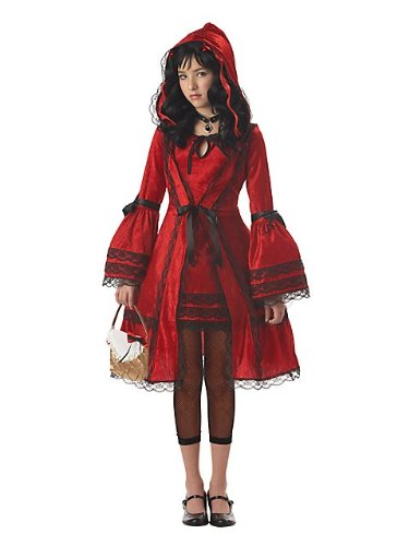 $27.58 ...  sc 1 st  Funtober & California Costumes Tweenu0027s Red Riding Hood Tween Costume - Funtober