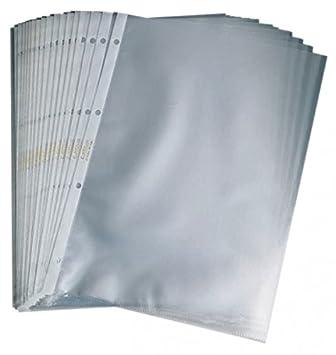 Confezione da 10 Hetzel 22443190 Buste a Perforazione Universale A3 Orizzontale Goffrate