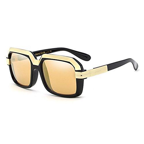 Gafas Sobredimensionado Burenqi Star UV400 Gafas Degradado Mujeres Hembra Estilo C Cuadrados de Vintage B Bastidor Lente Sol Nuevo pqfqWrXU