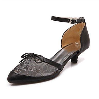Le donne eleganti sandali Sexy Donna Sandali Primavera Estate Autunno scarpe Club Novità materiali personalizzati similpelle Party & abito da sera Casual Chunky Heel altri , nero , us11 / EU43 / UK9 /