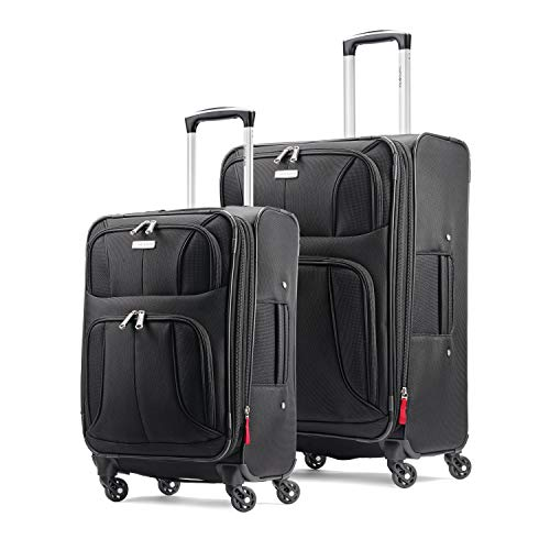 (Samsonite Aspire xLite Expandable Softside Set with Spinner Wheels, 2-Piece (20