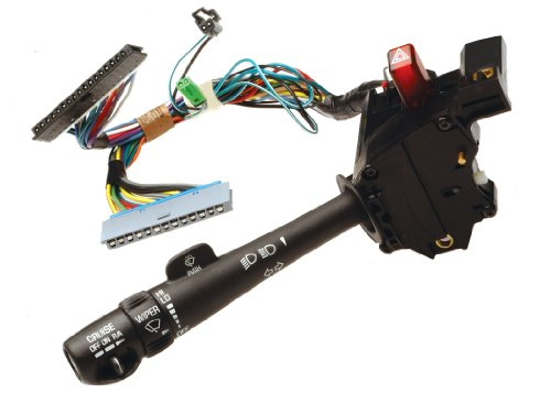 ACDelco D6257C GM Original Equipment Turn Signal, Headlight Dimmer, Windshield Wiper, and Hazard Switch with Lever