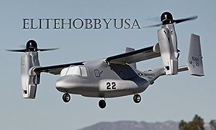 amazon com usa 5 ch blitzrcworks vtol v 22 osprey rc warbird rh amazon com V 22 Osprey Gunship V 22 Osprey in Combat