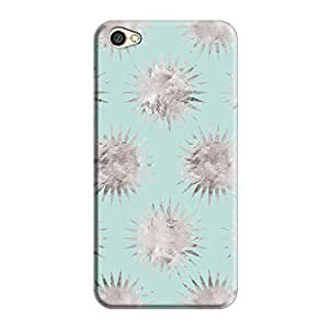 Cover It Up - Silver Blue Star Redmi Y1 Lite Hard Case