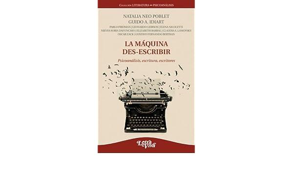 MAQUINA DES-ESCRIBIR, LA: NEO POBLET IDIART: 9789506495183: Amazon.com: Books