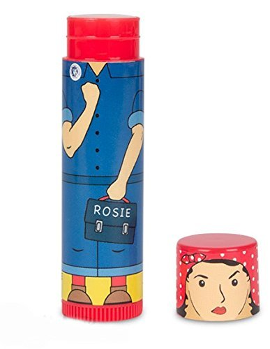 Rosie The Riveter Lip Balm (Blue) by Accoutrements