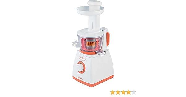 Ariete Centrika - Licuadora multifunción, color blanco y naranja ...