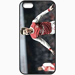 Personalized iPhone 5 5S Cell phone Case/Cover Skin Andrei Arshavin Football Black