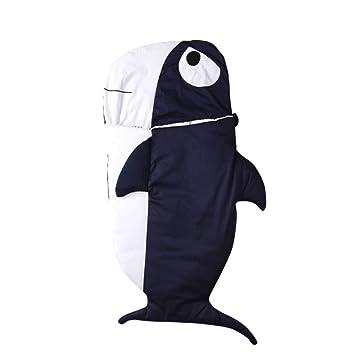 Saco de dormir del bebé Saco de dormir para bebés tiburón de dibujos animados ropa de cama ...