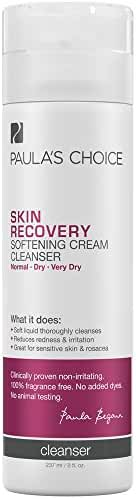 Paula's Choice SKIN RECOVERY Cleanser for Extra Sensitive Rosacea Prone Dry Skin - 8 oz
