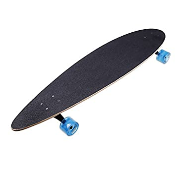 ANCHEER Longboard 41 Drop Down Through Road 9 Layer Canadian Maple Freeride Long Skateboard Complete for Kids Adults