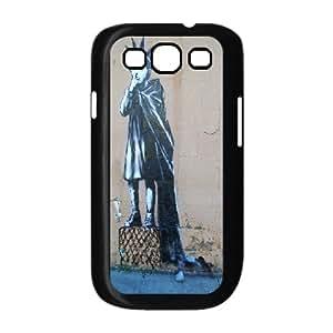 Strange popular 3D street graffiti art Hard Plastic phone Case Cover For Samsung Galaxy S3 FAN186728