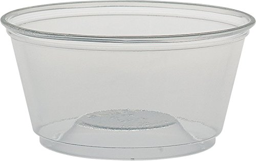 (Solo TS5R-0090 5 oz Clear Plastic Sundae Cup (Case of)