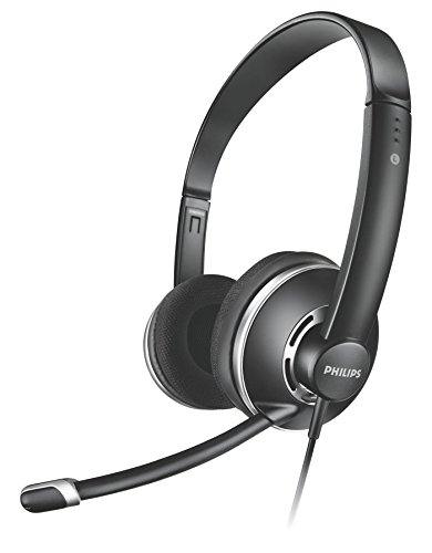 Philips SHM7410/97 PC Headset with Mic  Black