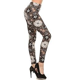 Leggings Depot Ultra Soft Women's High Waist Popular...
