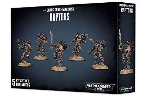 """Games Workshop 99120102082"""" Chaos Space Marine Raptors Plastic Kit"""