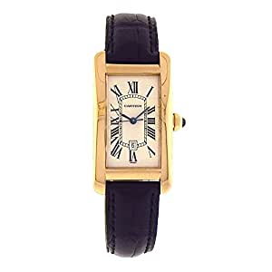Cartier Tank Americaine automatic-self-wind mens Watch W2603156 (Certified Pre-owned)