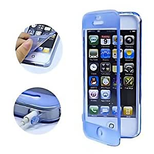 Buy Touch screen of TPU transparent body for the iPhone 5 seconds (various colors) , Green