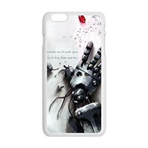SANYISAN Robot Red Diamond White iPhone plus 6 case