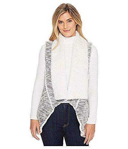 趣味放送過去ディラン バイ トゥルーグリット Dylan by True Grit レディース コート Black/White Classic Tweed Vest with Softest Faux-Sherpa Lining and Pockets [並行輸入品]