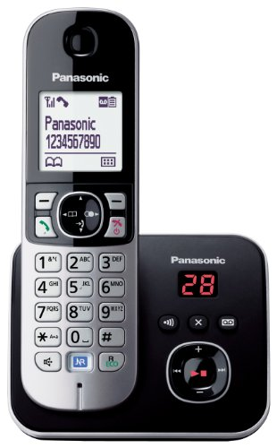 Panasonic KX TG6821EB Single DECT Cordless Telephone with Answer Machine