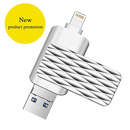 USB Flash Drive 32gb, Suntrsi Flash USB Drive for iPhone iPod Mac & ipad, Memory Stick Pen Drive Flash Drive Adapter for Android,MacBook Pro,PC