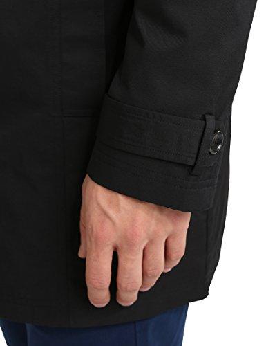Gabardina cinturón Hombre Schwarz James Negro con Tyler Rxaqw17