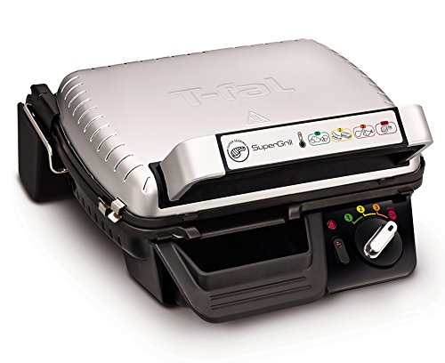 T-FAL GC450B52 1800W Super Grill Indoor Electric Grill Without Timer