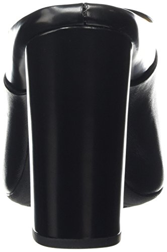 Geox Nolina B, Sandales Plateforme femme Noir - Noir