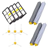 Twinsmall Replacement Parts for iRobot Roomba 860 880 805 860 980 960 Vacuums with 4Pcs (D)