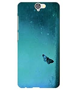 Citydreamz Butterflies\Flowers Hard Polycarbonate Designer Back Case Cover For HTC Desire A9