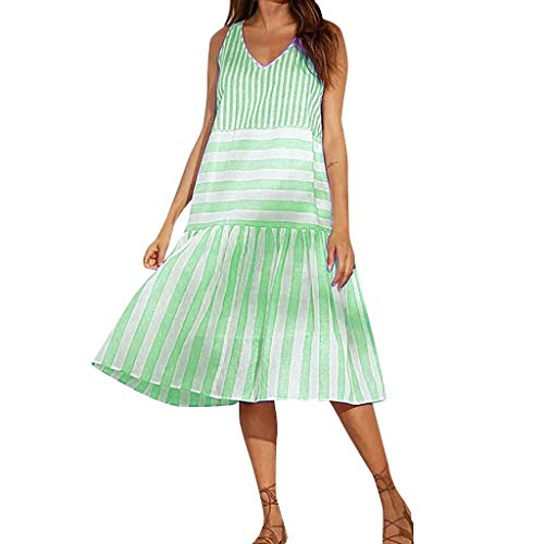 Yoke Cutwork - GOWOM 3/4 Sleeve Shirt Dress Women Classy Dresses Sexy Casual Plus Size Swing Dresses Maxi Ruffle Sleeve Dress v Neck Dress v Neck mesh Dress (Green,XX-Large)