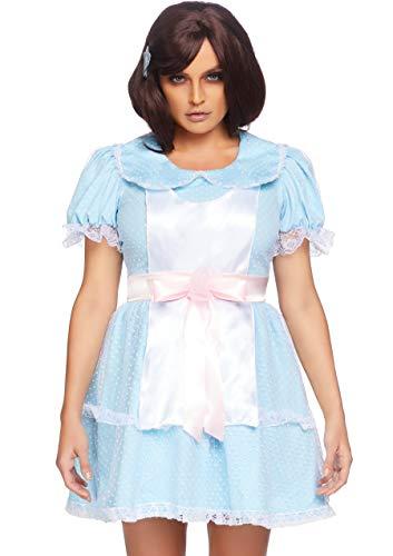 Leg Avenue Women's 2 Pc Creepy Sibling Costume,