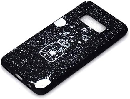 Transparent Clear Glitter TPU Compatible with Samsung S10 Plus,Ultra Thin Slim Soft Bling Sparkle TPU Funny Cute 3D Flower Animal Cartoon Flexible Silicone Bumper Protective Back Cover