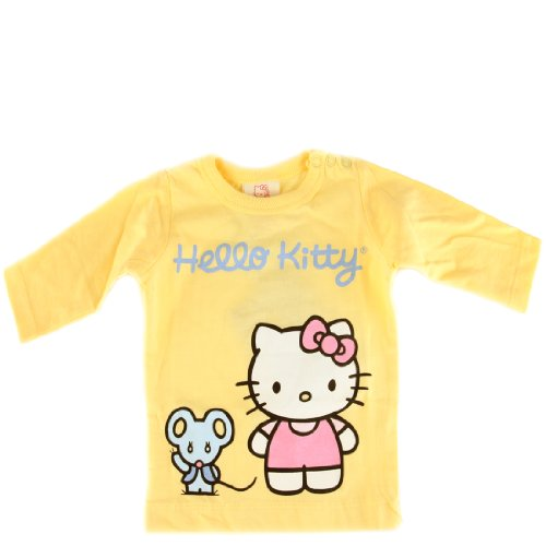 Hello Kitty Organics Baby Girls' Joey Long Sleeve Snap T-Shirt