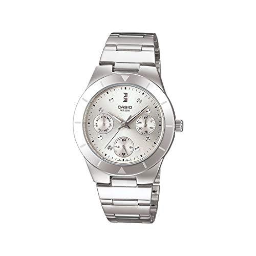 Casio Enticer Silver Dial Women #39;s Watch   LTP 2083D 7AVDF  A529