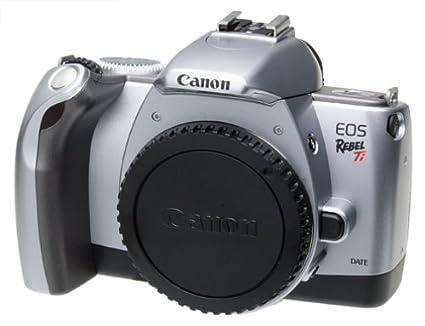 amazon com canon eos rebel ti 35mm slr quartz date camera body rh amazon com canon rebel t1i manual download canon rebel ti manual pdf