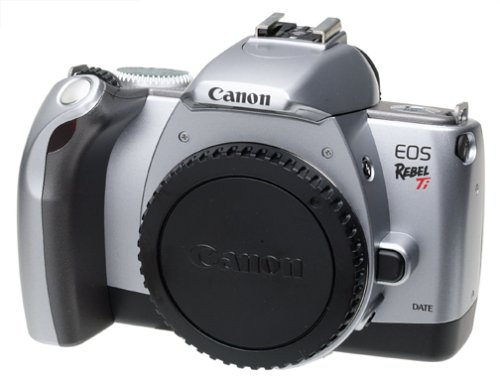 Canon EOS Rebel Ti 35mm SLR Quartz Date Camera (Body Only–No Lens)