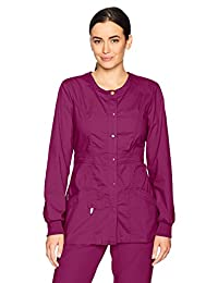 Code Happy Women's Bliss Snap Front Warm-up Jacket with Certainty