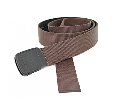 Hiker Belt Made in USA by Thomas Bates (Brown)