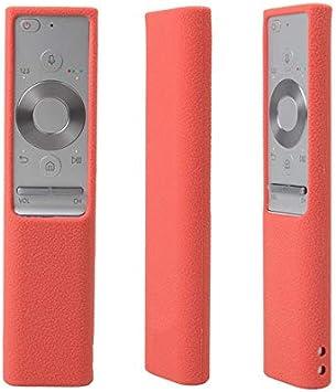 Calvas - Carcasa de Silicona para Samsung QLED Smart TV Cover para Samsung Smart Remote Control BN59-01265A, BN59-01274A Sum TV, Rojo: Amazon.es: Bricolaje y herramientas