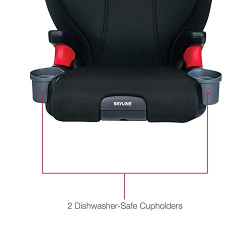 416MHyWtzfL - Britax Skyline 2-Stage Belt-Positioning Booster Car Seat - Highback And Backless | 2 Layer Impact Protection - 40 To 120 Pounds, Dusk