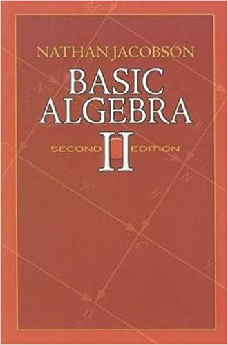 amazon basic algebra ii second edition dover books on