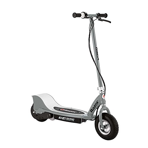 Razor E325 Electric Battery 24 Volt Motorized Ride On Kids Scooter, Silver