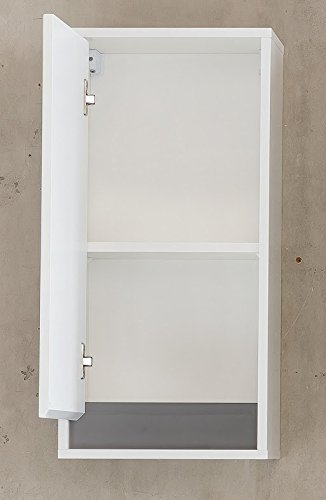 35 x 73 x 23 cm wei/ß//grau H/ängeschrank Tanja Badezimmerschrank Badezimmerh/ängeschrank Badschrank