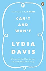 Can't and Won't by Lydia Davis (2015-03-26)
