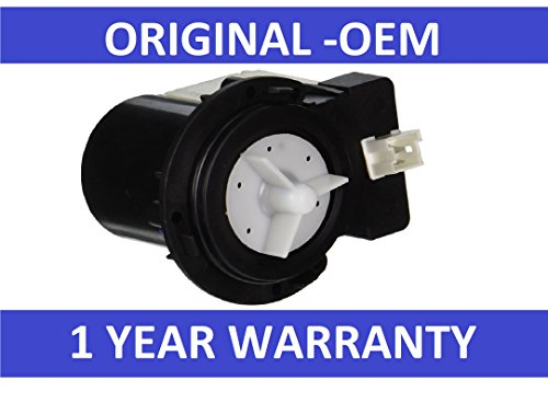 New OEM Original Samsung DC31-00054A Washer Drain Pump AP4202690,1534541, PS4204638, DC31-00016A -WARRANTY by (New Washer Pump)