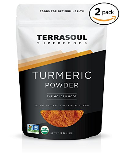 Terrasoul Superfoods Organic Turmeric Powder, 2 Pounds