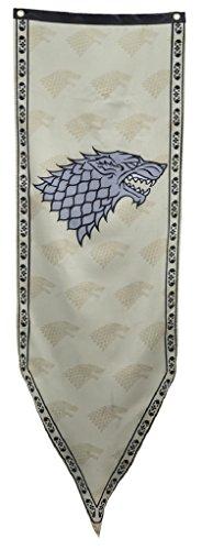 Calhoun Sportswear Game of Thrones House Stark Subliminal Lines Banner ()